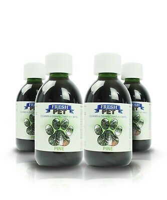 4 X 5L Eco-Refill Fresh Pet Super Concentrate - Kennel Disinfectant - Pine