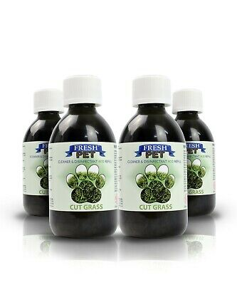 Fresh Pet Disinfectant Cleaner Eco-Refill Concentrate Makes 4X5L  Cut Grass