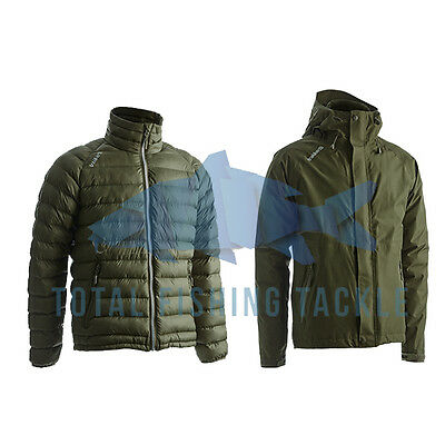 Trakker Summit XP + Base XP Waterproof Hooded Fishing Jackets *All Sizes*