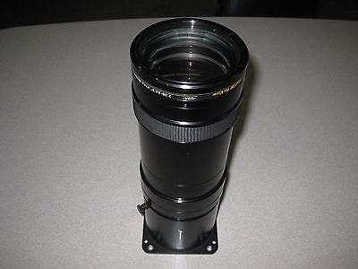 """Navitar 369Mcz151 7.38-12.3"""" Long-Throw Zoom Lens For Sanyo / Christie Projector"""