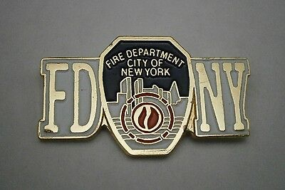 New York City - FIRE DEPARTMENT - FDNY - Hat - Lapel - Pin