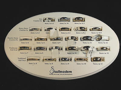 Jewelry Store Sample Ring Display 25 Rings  Southeastern Wedding Bands
