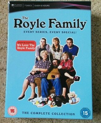 The Royle Family The Complete Collection Dvd Box Set Pal Region 2