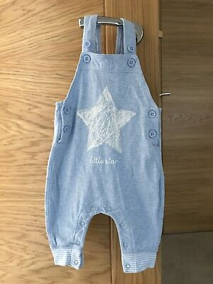 3-6 Months Boys Jersey Cotton Next Dungarees