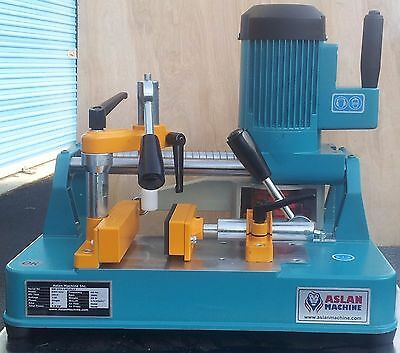 *b400* ASLAN MACHINE Table Top End Milling Machine for Vinyl and Aluminum Window