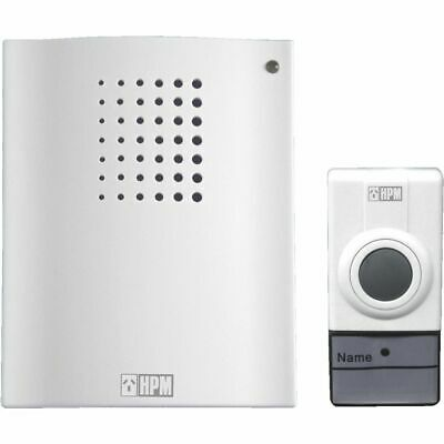 Bulk Buy - 5 x HPM Battery Operated Wireless Doorbell Chime