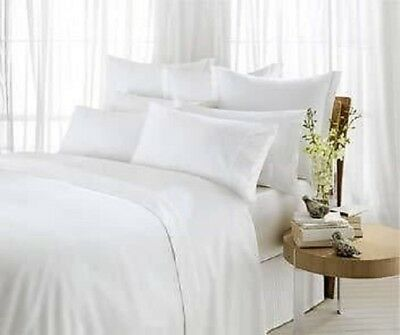 100% Egyptian Cotton 500 Thread Count Duvet Cover Set Or Fitted Sheet