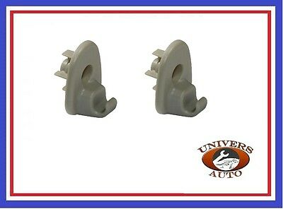 2X Fixations Pare Soleil Jeep Liberty  Cherokee Oem : 1Ar26Bd1Aa