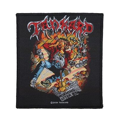 """Tankard: The Morning After"" Thrash Metal Band Album Art Sew On Applique Patch"