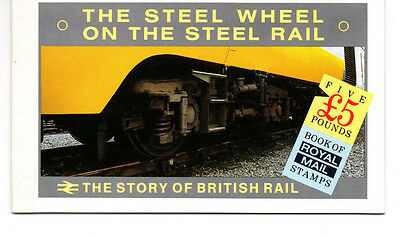 Great Britian Postage Stamps Booklet The Story Of Trains