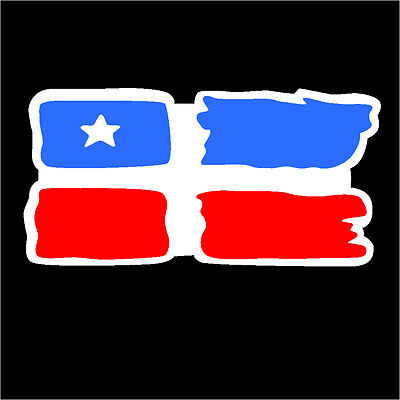 Puerto Rico Car Decal Sticker  Lares  Flag  #22