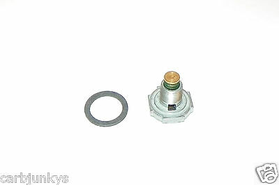 """HOL-125-65 Holley Carburetor 6.5/"""" Power Valve Replacement /& Gasket Washer Carb"""