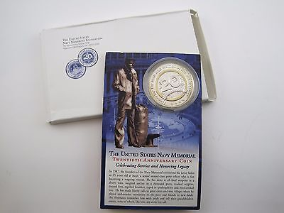 2007 United States Navy Memorial 20Th Anniversary Commemorative Medal