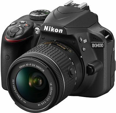 Nikon D3400 18-55mm VR Lens kit (AF-P DX NIKKOR 18-55 mm f/3.5-5.6G)