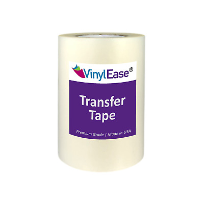 Clear TEAR AWAY Transfer Tape for Sign Craft Vinyl in Various Sizes and Widths