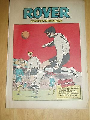 Derby (Hector Goal) At Chelsea 1969 Cover Rover 1969 & School Strips
