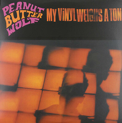 Peanut Butter Wolf My Vinyl Weighs A Ton Lp Vinyl New (Us) 33Rpm