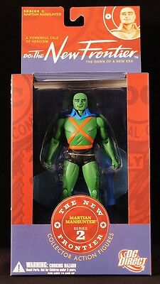 """2007 Dc Direct The New Frontier Series 2 Martian Manhunter 6"""" Figure Moc"""