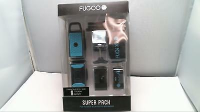 FUGOO - Super Pack for Fugoo Sport and Tough Speakers - Black/Teal