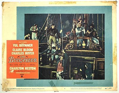 Theatre Lobby Card - The Buccaneer