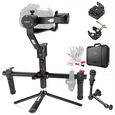 MOZA Air Handheld 3 axis Gimbal Stabilizer for Mirrorless DSLRs+ Dual Handle Set