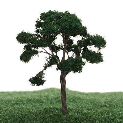 5x Trees Model Train Railroad Wargame Diorama Scenery Landscape HO OO Scale