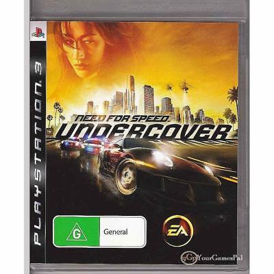 need for speed undercover 2009 ps3 complete cad 0. Black Bedroom Furniture Sets. Home Design Ideas