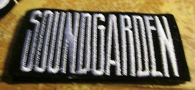 Soundgarden Collectable Rare Vintage Patch Embroided 90's Metal Live Audioslave