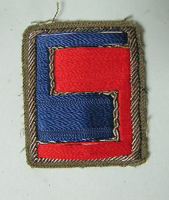 Wwii Us Army Patch Theater Made Bullion Rare