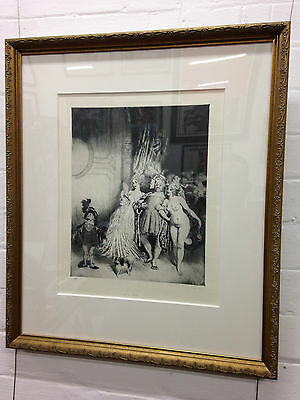 Norman Lindsay Enter the Duke Limited Edition Facsimile Etching