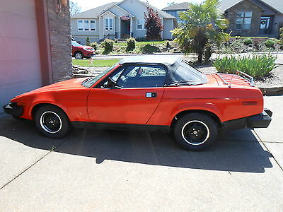 1979 Triumph Other BLUE 1979 TRIUMPH TR7 17K ORIGINAL MILES !! STORED INDOORS FOR YEARS ALL ORIGINAL