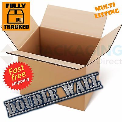 "X-LARGE DOUBLE WALL CARTONS BOXES 24x18x18"" REMOVALS"