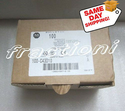 Allen-Bradley AB Contactor 100-C43D10, New In Box, 1-Year Warranty !