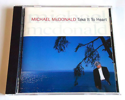 MICHAEL McDONALD Take It To Heart JAPAN CD 1990 WPCP-3508 Doobie Brothers