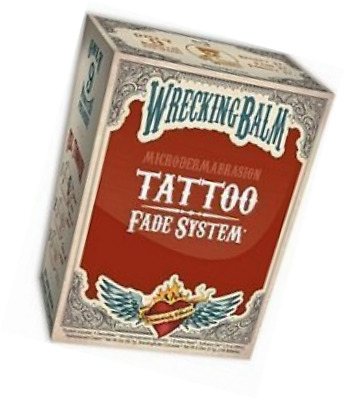Remove Tattoos Cream Wrecking Balm Microdermabrasion Help Tattoo Fade System Set