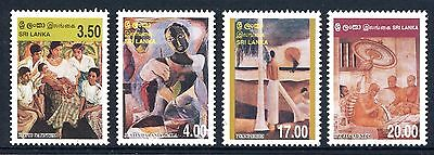 Sri Lanka 1999 Paintings MNH
