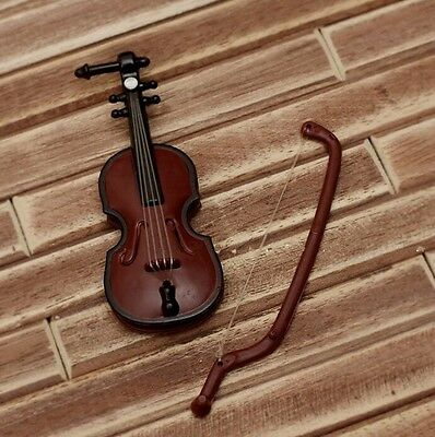 Mini violin Prop Toy For 1/12 1/8 BJD BLYTHE.AZ.OB.LICCA Doll-only a toy violin