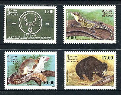 Sri Lanka 1994 Wildlife MNH