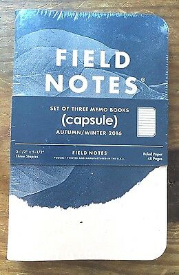 Field Notes - Capsule Limited Edition - Sealed set of 3