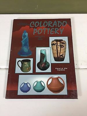 Colorado Pottery Collectors Guide Hardcover ReferenceBook 1994 - 166 Pages Color