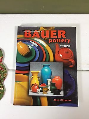 Bauer Pottery Collectors Guide Hardcover, Reference Book 1998 - 221 Pages Color