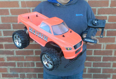 NEW LARGE MONSTER TRUCK 1/10th RADIO REMOTE CONTROL RC CAR READY TO RUN! REAPER