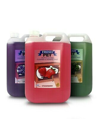 5L FRESH PET Rodent Specialist Disinfectant - Rabbit Hutch, Cage, Runs & Hamster