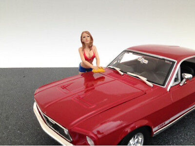 Car Wash Girl Jennifer (Modell Figur) 1:18 American Diorama AD-23845 Figure