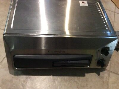 Kitchen Living Stainless Steel Counter Top Pizza Oven