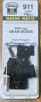 Kadee #911 (G Scale) Gear Boxes #831 Type (1 Pair in pkg)