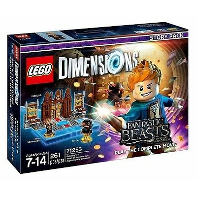 LEGO DIMENSIONS 71253 STORY PACK Fantastic Beasts and where to find them nuovo
