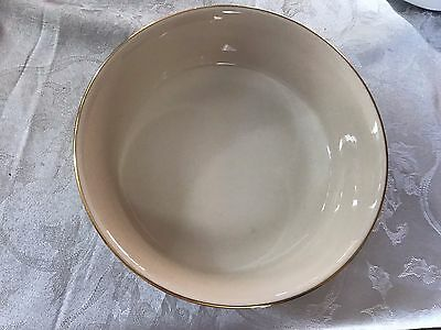 Lenox Special *ROUND SERVING BOWL * Ivory & Gold
