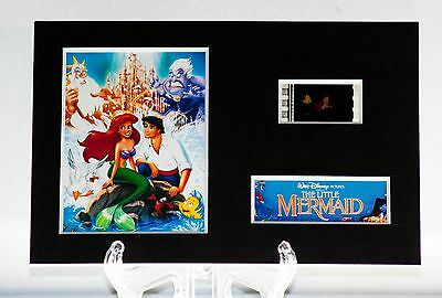 The Little Mermaid - 6 x 4 Unframed movie film cell display great gift