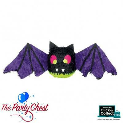 SPOOKY BAT HALLOWEEN PINATA Flying Bat Fun Halloween Party Game Decoration 12970